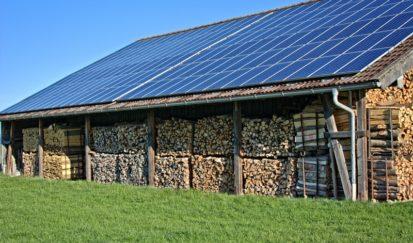 Bâtiment de Stockage - énergie photovoltaïque